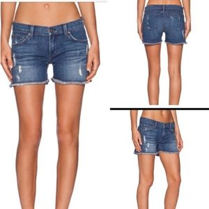 Anthro James Jeans Shorty Shorts Low-rise